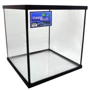35gal Cube Tank Black 20x20x20 by Deep Blue Professional