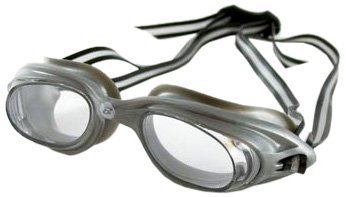 Barracuda Ultimate Clear On Silver Goggle