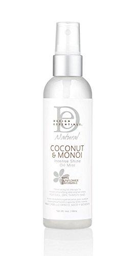 Design Essentials Natural Coconut&Monoi Intense Shine Oil Mi