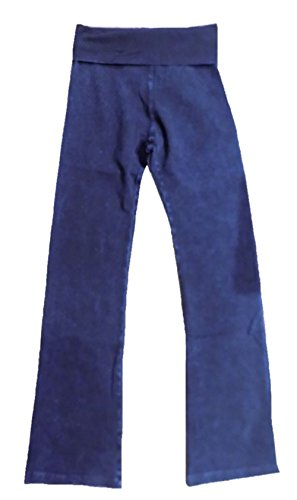 (Hard Tail Rolldown Bootleg Flare - Mineral Wash - Blue (S, Mineral Wash - Blue))