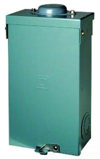 SCHNEIDER ELECTRIC Enclosure Qo Cir Brkr 240-Volt 125-Amp Nema 3 QO2125BNRB Switch Fusible Hd 240V 100A - Enclosure Qo 100a