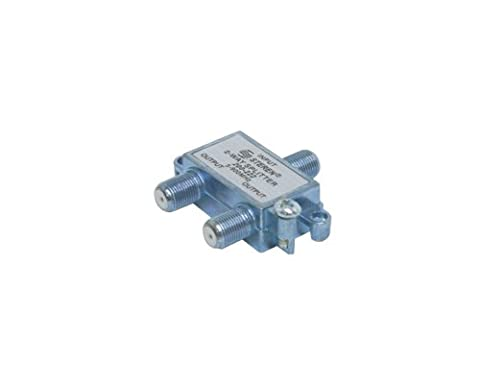 Black Point Products BV-017 H.D. RG-6 H.D. 2 Way Splitter - 900 Mhz Splitter