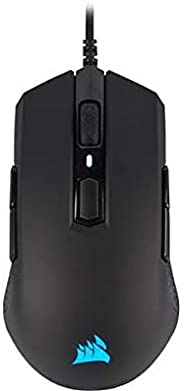 Mouse Gamer Corsair M55 RGB PRO Multi-Grip com design Ambidestro Preto - CH-9308011-NA