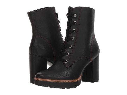 Naturalizer(ナチュラライザー) レディース 女性用 シューズ 靴 ブーツ レースアップブーツ Callie - Black Tumbled Leather [並行輸入品] B07JD287L2 9 M (B)