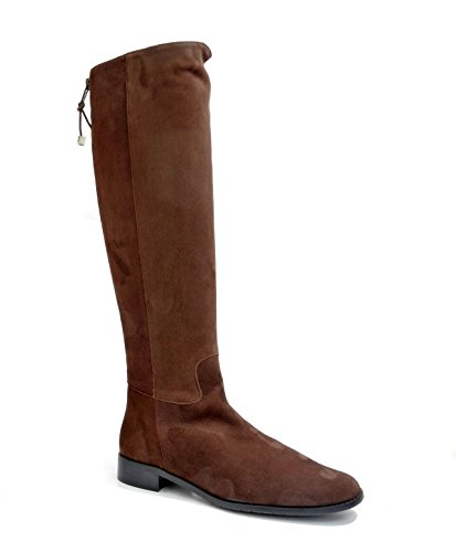 Eye Women's Knee High Leather and Suede Riding Boots J 16 Brown Suede iuhcJ0