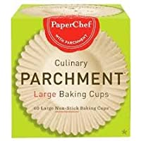 Deals on PaperChef 70060 Culinary Parchment Baking Cups Large