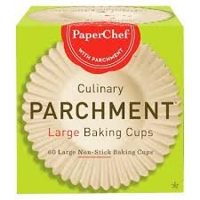 PaperChef Natural Release Coated Parchment Baking Cups (60-Cups Large)