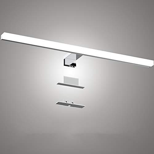 Infankey Spiegellamp, 3-in-1, 60 cm, 12 W, 1000 lm, 4000 K, 220 V, waterdicht IP44, neutraal wit, badkamerlamp, make…