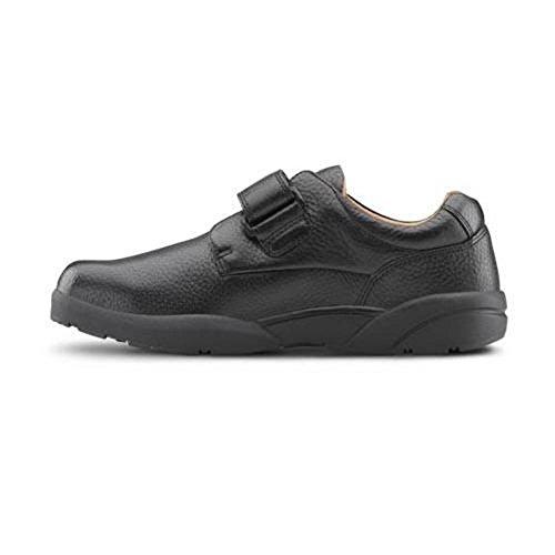 Dr. Comfort William-X Men's Therapeutic Diabetic Extra Depth Shoe: Black 10 X-Wide (XW/6E) Velcro by Dr. Comfort (Image #2)