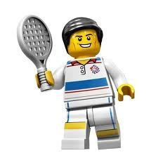 LEGO Olympic Minifigures: Olympic Tennis Player