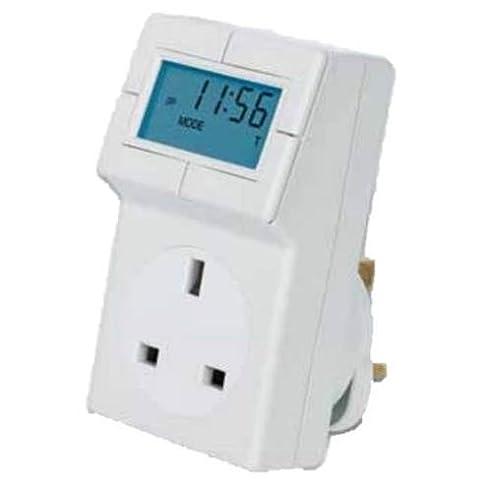Timeguard TRT05 Stecker-Thermostat elektronisch, mit integriertem ...