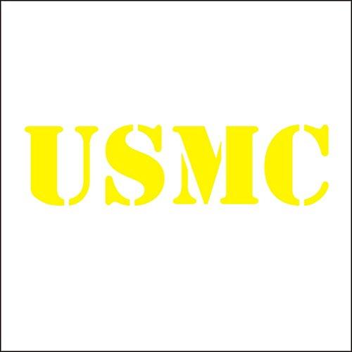 3141_Y Pegatina para el Coche USMC Estados Unidos Cuerpo de Marines del Coche del Vinilo de la Etiqueta engomada calcomanнas...