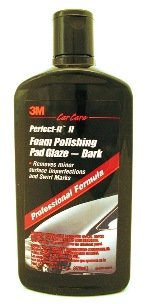 3M Perfect-It II Foam Polishing Pad Glaze - Dark, 16 oz Bottle (Glaze Foam Dark)