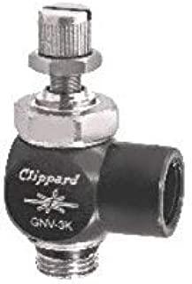 "product image for Clippard GNV-3K GNV Needle Valve, Direct Mount, 1/8"" NPT, Knob Adjustment"