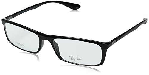 Ray-Ban Unisex 0RX7035 Black 1 One Size ()