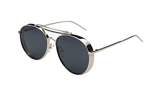 GAMT Classic Large Frame Sunglasses With Colored Lens UV400 - Sale Glasses Black Friday