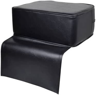 TMS® Black Barber Beauty Salon Spa Equipment Styling Chair Child Booster Seat Cushion