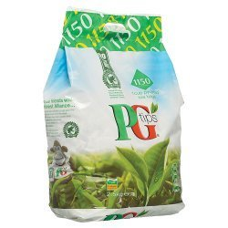 PG Tips Tea Bag 1150S 2.5Kg - 1150 Pyramid Tea Bags (Pack Of 2)