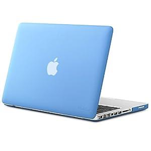 "Kuzy - Plastic Case for Older MacBook Pro 13.3"" (Model: A1278) Aluminum Unibody Ultra Slim Rubberized Matte Cover - SERENITY BLUE"