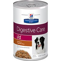 Hill's Prescription Diet i/d Digestive Care Chicken & Vegetable Stew Canned Dog Food 12/12.5 oz