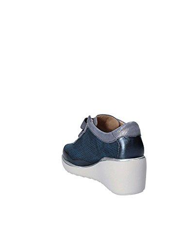Sandali Bassi E Scarpe Derby, Colore Metallizzato, Marca, Modello Scarpe Basse E Scarpe Derby Eclipse 9 Colore Blu Metallizzato
