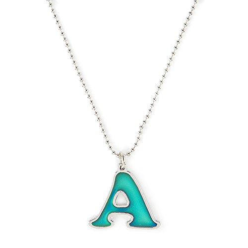 Mood Initial Pendant Necklace