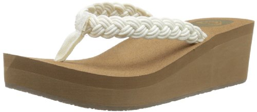 b91b676ccc48 Roxy Women s Tidal Wave Wedge Sandal