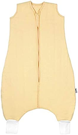 Slumbersac Summer Kid Sleeping Bag with Feet 0.5 Tog Plain Blue 3-4 years//110 cm