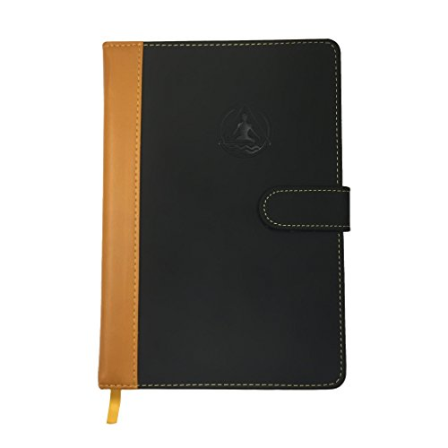 Best Daily Planner Calendar & Gratitude Journal To Enhance Your Productivity + Time + Happiness - Accomplish All Your Goals In 2018! - Deluxe Leather Agenda - Undated! by Transcending Waves Planner