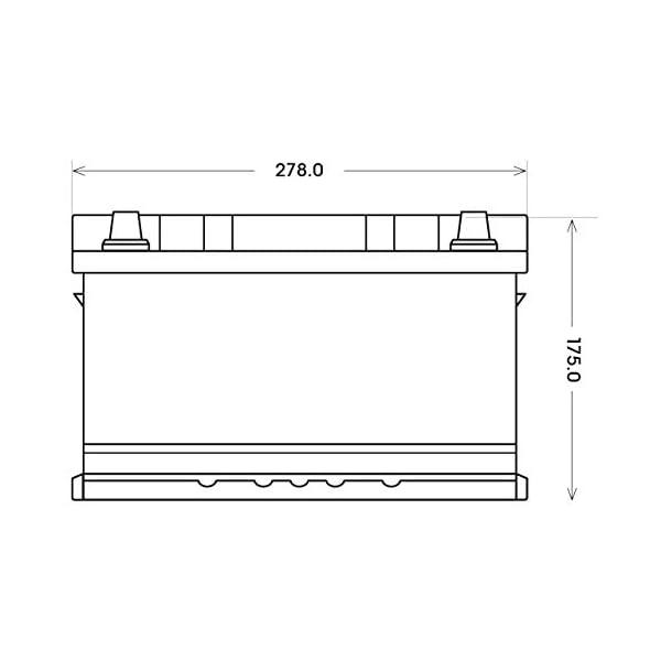 31bq90MCBdL Solarbatterie 100Ah BIG 12V Versorgungsbatterie Boot Caravan Wohnmobil Batterie