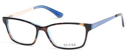 GUESS Eyeglasses GU2538 052 Dark Havana - Guess Glasses