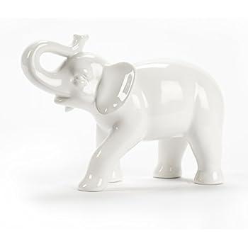 Abbott Collection Ceramic Elephant Figurine