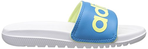 adidas Performance Volomix XJ Gleit Sandale Weiß / Solar Blau / Light Flash Gelb