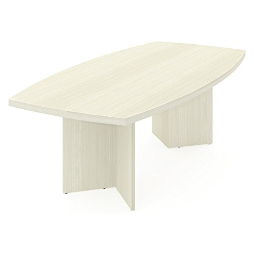 Bestar Furniture 65776-31 Boat-Shaped conference table with 1 3/4