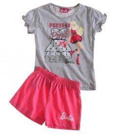 77f502f406 Barbie - Pijama - para niña grau und pink 8 años  Amazon.es  Ropa y  accesorios