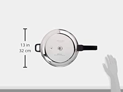 Vinod Pressure Cooker - Sandwich Bottom (Jumbo) Stainless Steel by Vinod