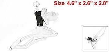 sourcingmap® 2.4cm Durchmesser Klemme Berg Fahrrad Metal Front Umwerfer