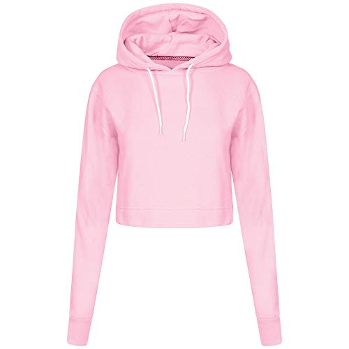 Clearance Sale Comfort Long Pink Solid Fashion Autumn Top Womens Pullover Hoodie Sleeve Sweatshirt Casual DOLDOA gqBd5g