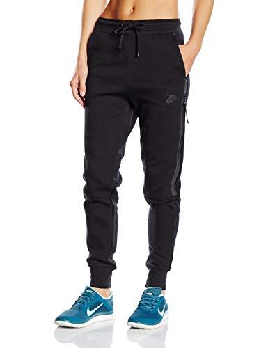 (Nike Women's Tech Fleece Pants, Black, LG X)