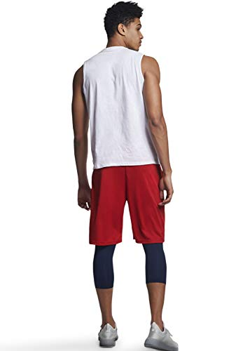 Russell Athletic Men's Cotton Performance Sleeveless Muscle T-Shirt
