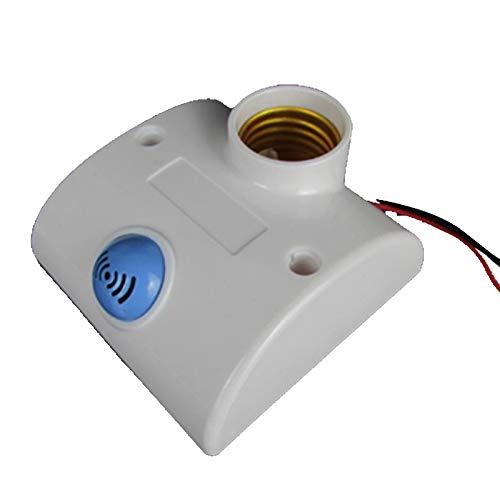 JiuRui-LED Lámpara E27 220V Iluminación del hogar, Radar Sensor de ...