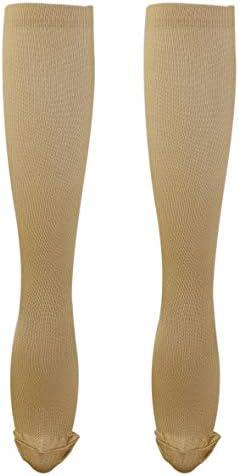 Tivollyff 男性女性快適なストッキングスリムフィットリリーフソフトユニセックスミラクル銅抗疲労圧縮ストッキングシェーピングストッキング(S/M)