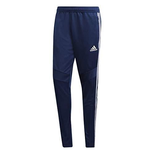 adidas Men's Soccer Tiro 19 Training Pant, Dark Blue/White, Medium ()