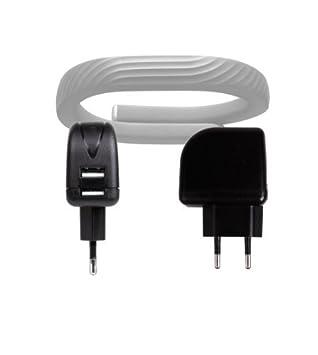DURAGADGET Chargeur Secteur de voyage USB puissant (2 Amp) idéal pour montre connectée Jawbone