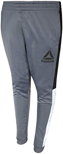 Reebok Boys Poly Tricot Active Jogger Pants, Echo Grey, X-Large' ()