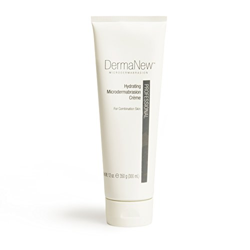 Hydrating MicroDermabrasion Cream Professional Size (12 oz) by DermaNew MicroDermabrasion Dermanew Crystal