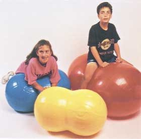 Image of ALIMED 30-1722 PhysioGymnic Roll Yellow 21'(55cm) Exercise Balls