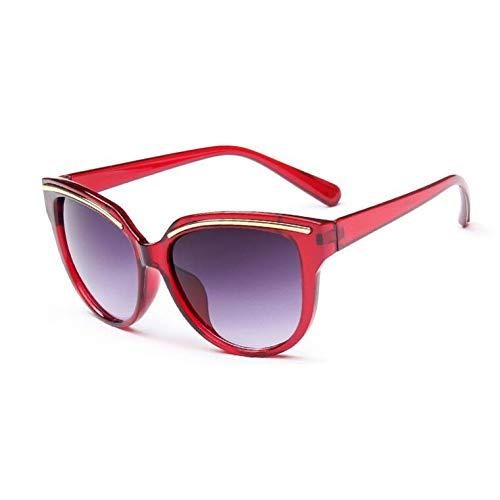 Femmes Burgundy Fashion Ysfu Soleil Design De nbsp;de Lunettes nbsp;soleil Chat Œil Femme Sourcil Lunettes 7Pr7wqH