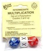 Koplow Games Intermediate Multiplication Dice