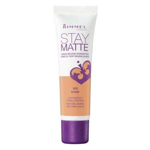 (3 Pack) RIMMEL LONDON Stay Matte Liquid Mousse Foundation - Sand